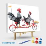 Chickens On Bike