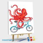 Octopus On Bike