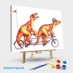 Raptors On Bike
