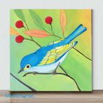 Mini-CuteBird#3(Already Framed Canvas)