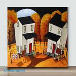 Mini-Lovely Home 2 (Already Framed Canvas)