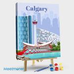 Calgary Travel Poster