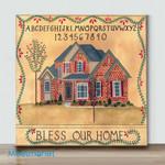 Mini-Brick House Blessing(Already Framed Canvas)