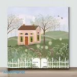 Mini-Path To Spring(Already Framed Canvas)