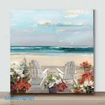 Mini-Summer Sea Breeze(Already Framed Canvas)