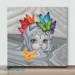 Mini-Minerva (Already Framed Canvas)