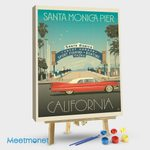 Santa Monica Pier Classic Sign