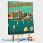 Baltimore Maryland Harbor View