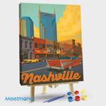 Nashville Broadway Sunset