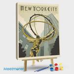 New York City Rockefeller Cente