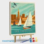 San Francisco Sail Boats