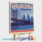 Philadelphia Benjamin Franklin Bridge I