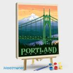 Portland Oregon St. Johns Bridge