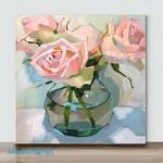 Mini - Demo Roses(Already Framed Canvas)