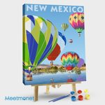 New Mexico-Hot Air Balloons