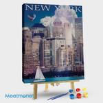 New York Manhattan River Front