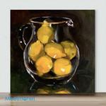 Mini – Make lemonade(Already Framed Canvas)