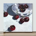 Mini – Cherries(Already Framed Canvas)