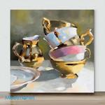 Mini – Dance of gold(Already Framed Canvas)