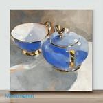 Mini – Something blue(Already Framed Canvas)