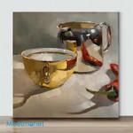Mini – Silver vs gold(Already Framed Canvas)