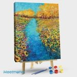Sunflower Triptych Panel V