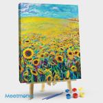 Sunflower Triptych Panel I