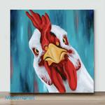 Mini – Cute Chicken(Already Framed Canvas)
