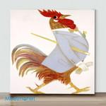 Mini – Confident Mr. Chicken(Already Framed Canvas)