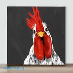 Mini – Cute Chicken#1(Already Framed Canvas)