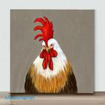 Mini – Cute Chicken#2(Already Framed Canvas)