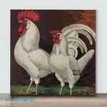 Mini – White Chicken(Already Framed Canvas)
