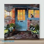 Mini – Door to the Warmth(Already Framed Canvas)