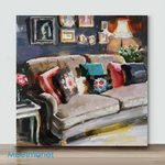 Mini – Pillows Galore(Already Framed Canvas)