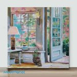 Mini – Door to the Flowers(Already Framed Canvas)