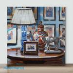 Mini – Blue Gallery Wall(Already Framed Canvas)
