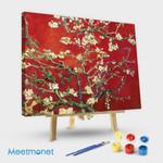 Interpretation Blossoming Almond Tree