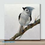 Mini-Bird Art(AlreadyFramedCanvas) #18