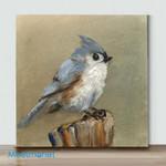 Mini-Bird Art(AlreadyFramedCanvas) #16