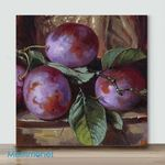 Mini – Purple grapes(Already Framed Canvas)