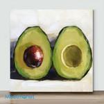 Mini – Avocado Party(Already Framed Canvas)