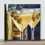 Mini – Dirty Martini(Already Framed Canvas)