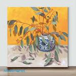 Mini – Vase flower 5(Already Framed Canvas)