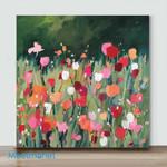 Mini – Wildflowers(Already Framed Canvas)