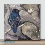 Mini-Sunbird in Breeding Plumage(Already Framed Canvas)