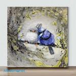 Mini-Splendid Fairywrens(Already Framed Canvas)