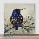 Mini-Hummingbird in Breeding Plumage(Already Framed Canvas)