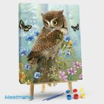 Owl And Butterfly-1