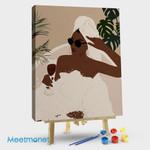 Black Woman Drinking Wine In Bathtub