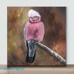 Mini-Bird Art(AlreadyFramedCanvas) #26